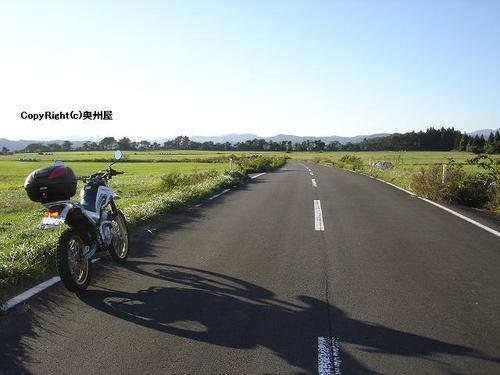 鳴子・川渡から小野田にぬける農道。