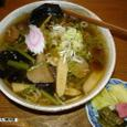 山菜そば(冷たい) 孫作