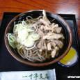冷たい肉そば (一寸亭支店)