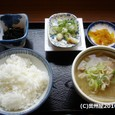 豚汁定食 (古関PA・下り)