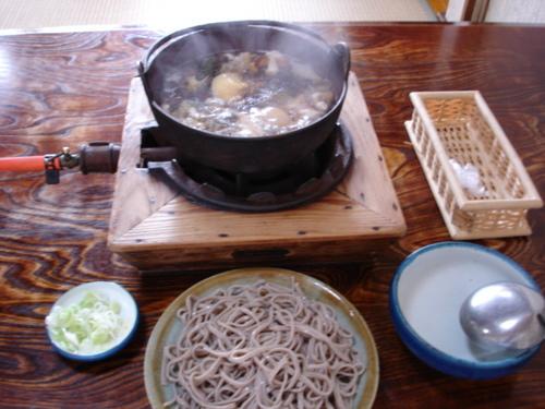 月山山菜そば(出羽屋)
