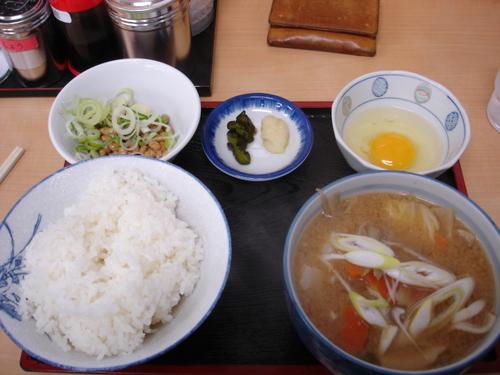 豚汁定食 (鶴巣亭)