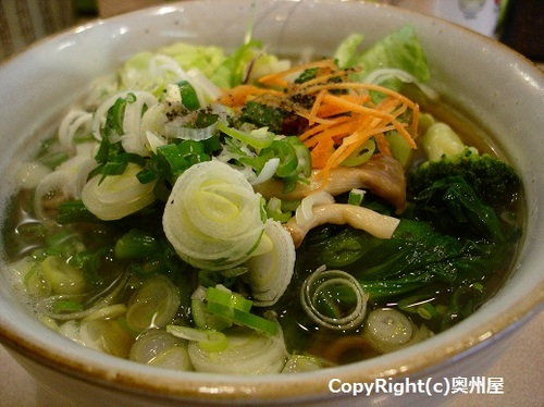 野菜そば (酒井屋)