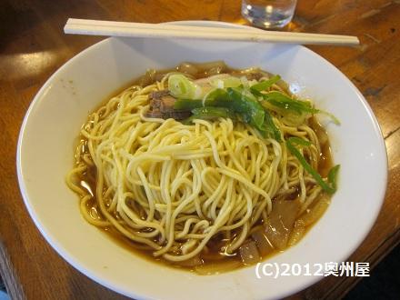 肉そば 中盛り(伊藤 ③)